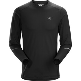Arc'teryx Motus Crew LS Shirt Herre black